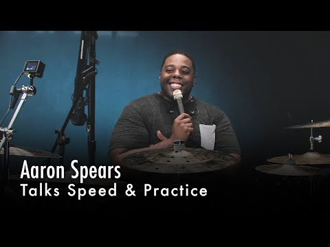 Aaron Spears Talks Speed & Practice