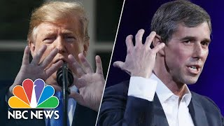 Watch President Donald Trump And Beto O'Rourke In 'Hand To Hand' Combat | NBC News