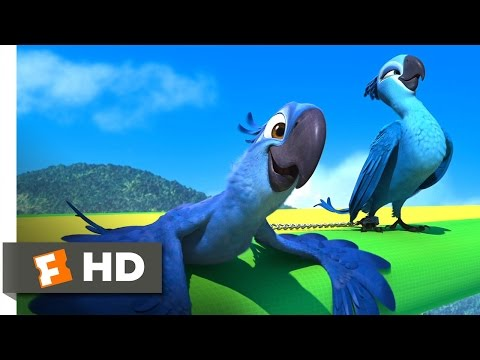 Rio (4/5) Movie CLIP - Flying Fail (2011) HD