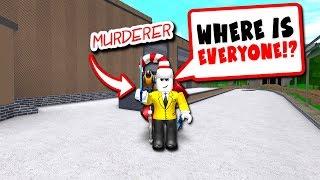 ONLY A MURDERER!! (Roblox Murder Mystery 2)