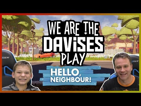 We Are So Lost | Hello Neighbor Final Release Ep-1 | We Are The Davises Gaming