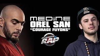 """Médine """"Courage Fuyons"""" feat. Orelsan en live #PlanèteRap"""