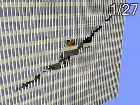 Scientists simulate jet colliding with World Trade Center