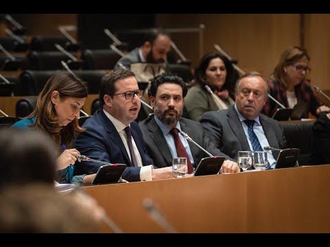 Agustín Almodóbar Barceló la Comisión de Industria, Comercio y Turismo