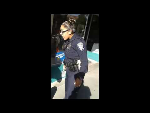 Video Small Female Cop Tries To Arrest A Man For Riding His Bike On A Sidewalk download in MP3, 3GP, MP4, WEBM, AVI, FLV January 2017
