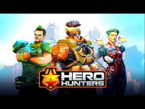 Hero Hunters #1 Gameplay Walkthrough (Android) HD