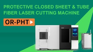 China factory two table 3015 8kw enclosed fiber laser cutting machine youtube video