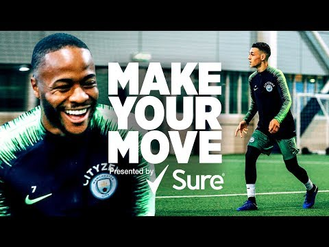 Video: Raheem Sterling, Phil Foden & Danilo | Make Your Move presented by Sure
