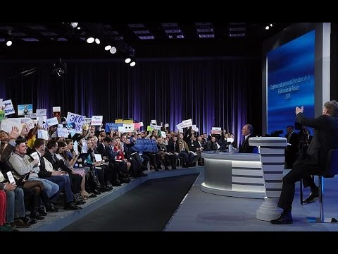 Большая пресс-конференция Владимира Путина 23.12.2016 (видео)