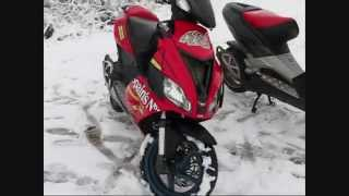7. Aprilia SR 50 R + Factory Driving @ Snow NEU