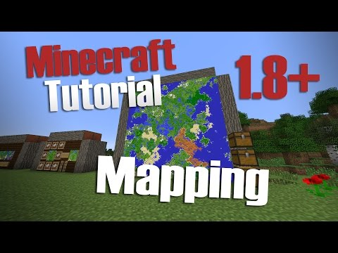 Sirhc's Minecraft Tutorials: Mapping [1.8+]