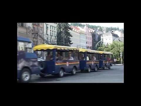 Autovláček Dopravního podniku Karlovy Vary