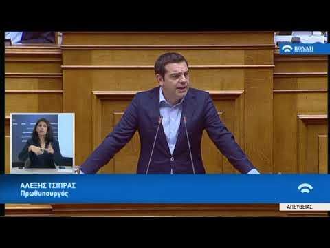 Α.Τσίπρας(Πρωθυπουργός)(Ψήφιση φοροελαφρύνσεων πολιτών και επιχειρήσεων)(28/11/2018)