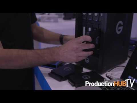 G-Technology G-SPEED Shuttle XL at Cine Gear LA 2016