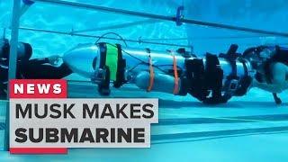 Thai cave rescue: Elon Musk rescue submarine explained (CNET News)