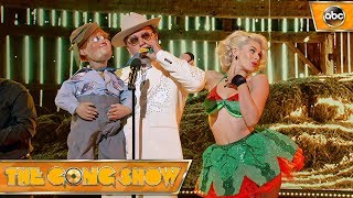Watch this act, David Arquette, from The Gong Show 1x5 Celebrity Judges:Rob RiggleKen JeongRegina Hall Watch more acts on The Gong Show Thursdays at 109c on ABC! Subscribe: http://goo.gl/mo7HqT