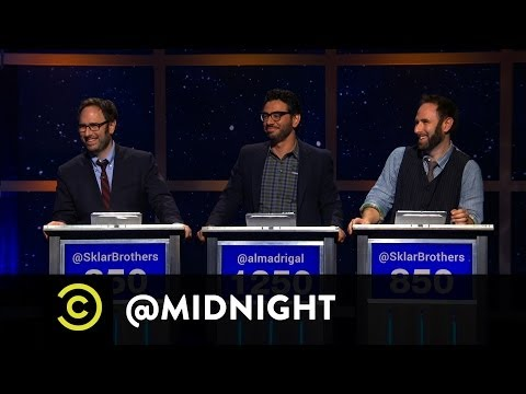 The Sklar Brothers, Al Madrigal - Donald Trump: Hired or Fired - The Douche Pope - @midnight