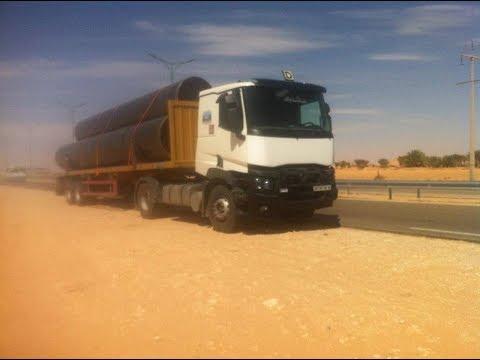مغامرات سائقي شاحنات  في الصحراء و التل Renault premuim 2017