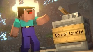 Don't Touch! (Minecraft Animation)