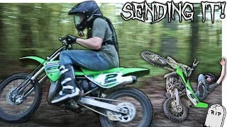 10. PUSHING A KX100 TO ITS LIMITS! | Went TOO FAR