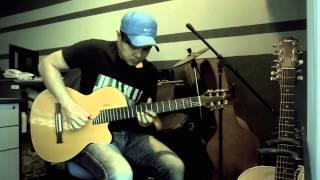 Ku Di Halaman Rindu (Lefthanded) - Fingerstyle - Instrumental - Cover - Akustik Gitar