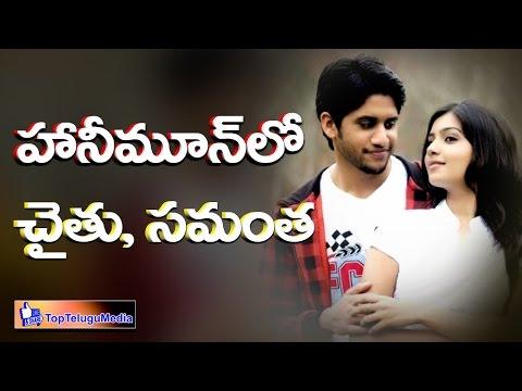 Samantha Naga Chaitanya Enjoying Honeymoon