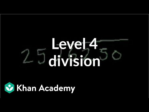 division - Learn more: http://www.khanacademy.org/video?v=gHTH6PKfpMc Dividing a two digit number into a larger number.