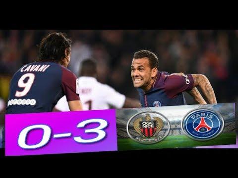 PSG vs Nice 3-0 Goals & Highlights (27/10/2017)