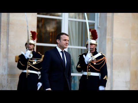 Macron calls for 'much stronger mobilization' on climate
