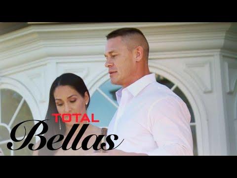 Brie Bella Hijacks Nikki & John Cena's Engagement Party   Total Bellas   E!