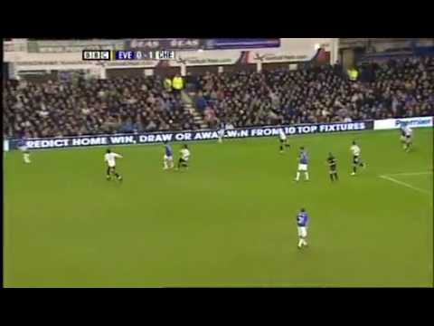 Everton 2-1 Chelsea 10.02.2010 Match Highlights