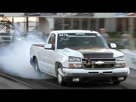 Chevy Silverado sets record with 8.07 pass