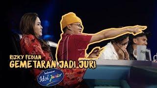 RFASVLOG- RIZKY FEBIAN GEMETERAN JADI JURI INDONESIAN IDOL JUNIOR 2018
