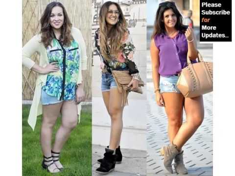 Leather Plus Size Shorts For Plus Size And Chubby Women -Pictures | Leather Plus Size Shorts Romance