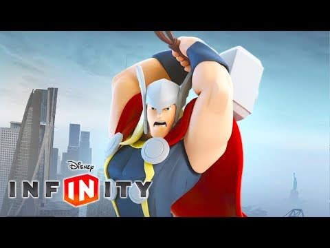 THOR Cartoon Game Videos for Kids - Superhero Video Games for Children - Disney Infinity