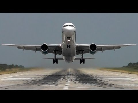 Scary Head-On Takeoffs and Landings! Skiathos, The 2nd St Maarten!