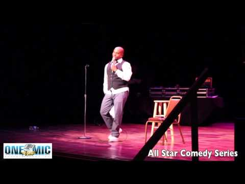 TONY ROBERTS LIVE!! Wired All Star Comedy Series ONE MIC ENT.