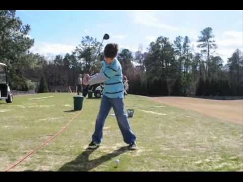 Junior Golf Instruction – Good rythm with the driver – by Grexa Golf