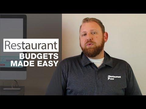 Restaurant Budgets Made Easy