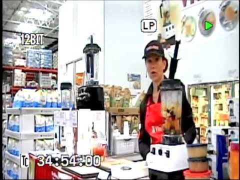 Vita-Mix Lady – Fresh Fruit Juice Demonstration