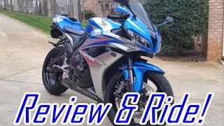 1. 2007 Honda CBR600RR: Exhaust, Walkaround, Test Ride & Review