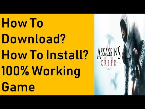 How To Download Assassin's Creed 1 Game For PC Full Version