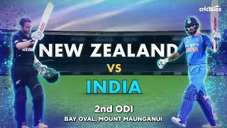 NZ Vs IND 2nd ODI Full Highlight | Post Match Show