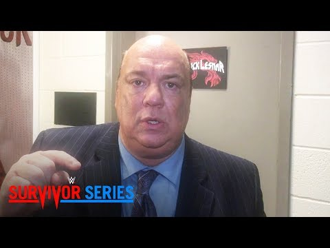 Paul Heyman compares AJ Styles to a slew of legendary WWE Superstars: Exclusive, Nov. 19, 2017