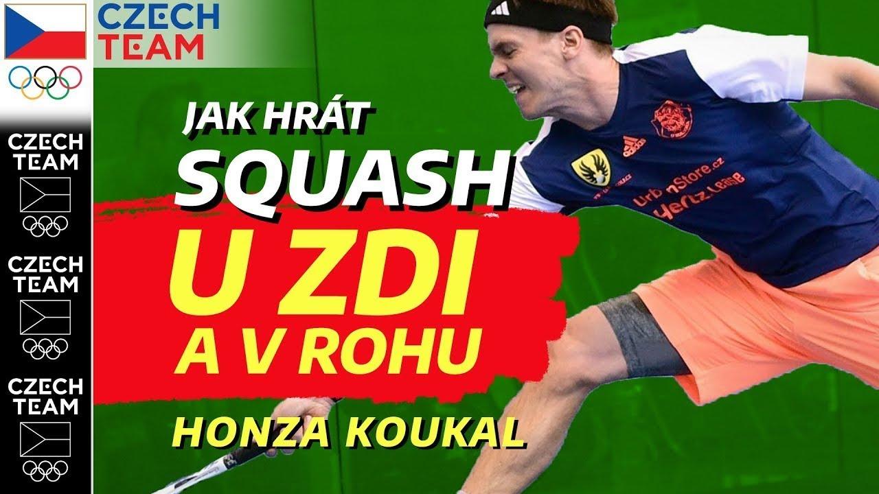 Jak hrát squash u zdi a v rohu❓| Squash podle Koukiho