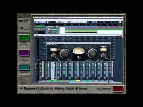 A Beginner's Guide to Mixing Metal at Home – Episode 3 pt. 2 (Guitars 2)