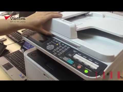 Hướng dẫn SCAN ID CARD máy in đa năng đen trắng MB472dnw