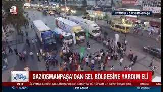 Gaziosmanpaşa'Dan Sel Bölgelerine Yardım Eli! - A Haber
