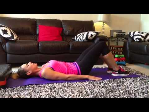 Heel slides – Safe core exercise for new mums