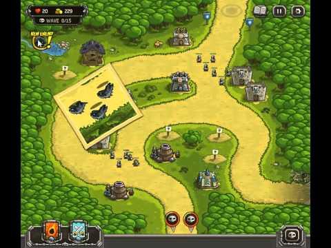 Kingdom Rush Walkthrough Level 5